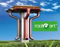 Sistem de preluare a apelor pluviale ROOFART